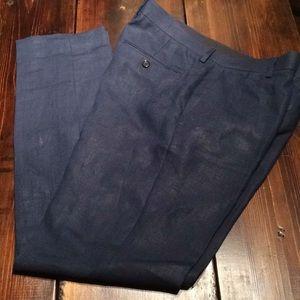 Irish Linen JCrew Ludlow Trousers